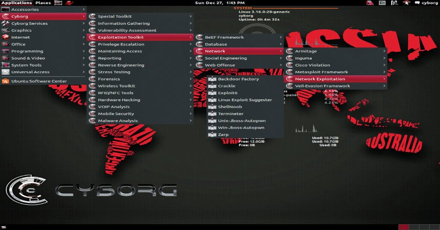 system hacking tools